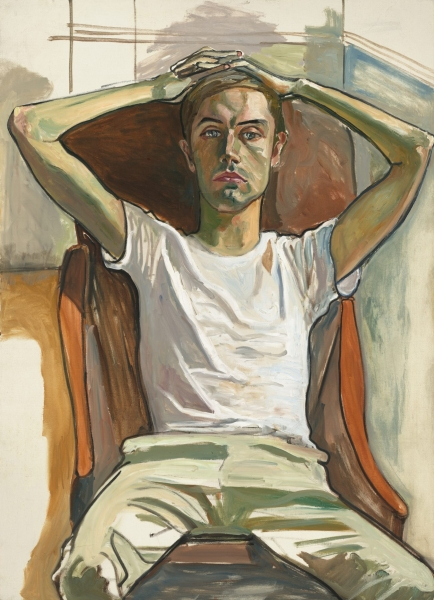 Alice Neel. Hartley. 1966. oil on canvas. 127 x 91,5cm. gift of Arthur M. Bullowa. National Gallery of Art Washington.