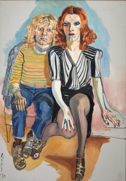 Alice Neel: Jackie Curtis and Rita Red, 1970 Öl auf Leinwand. The Cleveland Museum of Art, leonard C. Hanna, Jr. Fund 2009.345 © The Estate of Alice Neel