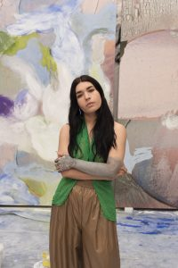 Portrait Donna Huanca. Art On Screen - NEWS - [AOS] Magazine