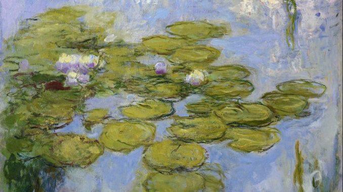 Claude Monet - Seerosen, 1916-1919, Art On Screen - NEWS - [AOS] Magazine