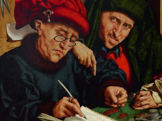 Quentin Massys der Ältere, Die Steuereintreiber, Ausstellung Rubens bis Makart, Die Fürstlichen Sammlungen Liechtenstein, Albertina Wien